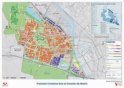 Plankaart Leidsche Rijn en Vleuten-De Meern