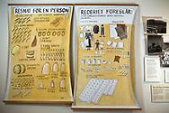Utst&auml;llning om den svenska utvandringen till USA p&aring; the Swedish American Museum i Andersonville.<br /> <br /> G&ouml;teborgskonstn&auml;ren Lars Gillis har gjort v&auml;ggm&aring;lningarna och illustrationerna p&aring; musset. <br /> Gillis dog 2012.<br /> <br /> Foto: Christina Sj&ouml;gren