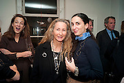 NICOLA SACHER; PRISCILLA RATAZZI,  Book signing reception for a photo book of Black and White photographs of dogs Luna and Lola'  by Priscilla Rattazzi. Mungo and Maud. Elizabeth st. London. 9 November 2008. -DO NOT ARCHIVE-© Copyright Photograph by Dafydd Jones. 248 Clapham Rd. London SW9 0PZ. Tel 0207 820 0771. www.dafjones.com.
