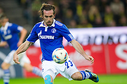 26.11.2011, Signal Iduna Park, Dortmund, GER, 1. FBL, Borussia Dortmund vs FC Schalke 04, im Bild Christian Fuchs (#23 Schalke) // during Borussia Dortmund vs. FC Schalke 04 at Signal Iduna Park, Dortmund, GER, 2011-11-26. EXPA Pictures © 2011, PhotoCredit: EXPA/ nph/ Kurth..***** ATTENTION - OUT OF GER, CRO *****