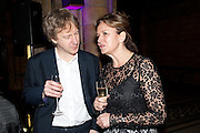 SEBASTIAN SHAKESPEARE; CAROLINE MICHEL, Orion Authors' Party celebrating their 20th anniversary. Natural History Museum, Cromwell Road, London, 20 February 2012.
