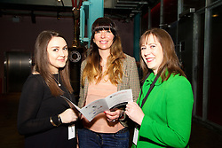 Sophie Harkin from Danone Nutricia, Laura O'Carroll from Danone, and Gemma Costello from Failte Ireland.