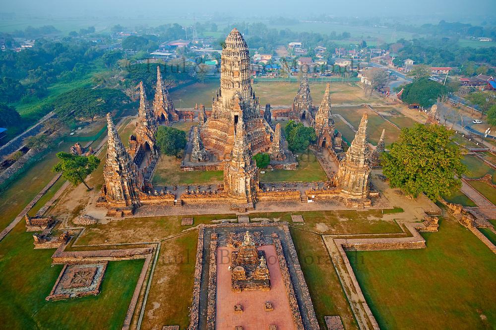 Thailand, Ayutthaya, Ayutthaya Historical Park, Wat Chai ...