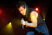 Papa Roach performs on May 15, 2011 at Verizon Wireless Amphitheater in St. Louis, Missouri. © 2011 Todd Owyoung.