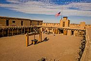 Bents Old Fort National Historic Site, La Junta, Colorado, hide press