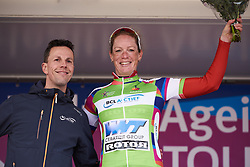 Kirsten Wild (NED) wins the points jersey at Healthy Ageing Tour 2019 - Stage 5, a 124.3 km road race in Midwolda, Netherlands on April 14, 2019. Photo by Sean Robinson/velofocus.com