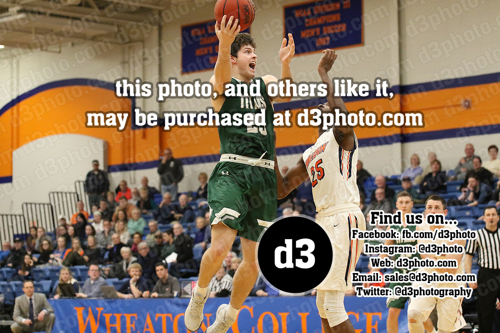 Men's Basketball: Wheaton College (Illinois) Thunder vs. Illinois Wesleyan University Titans