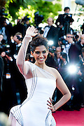 Sonam Kapoor at the 'The Artist' premiere at the Palais des Festivals during the 64th Annual Cannes Film Festival on May 15, 2011 in Cannes, France