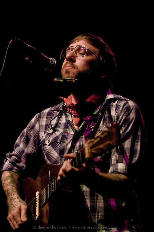 City and Colour (Dallas Green) performs at the Paramount Theater in Denver, CO.