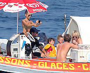 26.JULY.2013. ST TROPEZ<br /> <br /> NICOLE RICHIE AND HER HUSBAND JOEL MADDEN WITH HARLOW AND SPARROW THEIR CHILDREN ARE HAVING A GOOD TIME (JET SKI, ICE CREAM, BIKINI) ON THEIR SUPER YACHT.<br /> <br /> BYLINE: EDBIMAGEARCHIVE.CO.UK<br /> <br /> *THIS IMAGE IS STRICTLY FOR UK NEWSPAPERS AND MAGAZINES ONLY*<br /> *FOR WORLD WIDE SALES AND WEB USE PLEASE CONTACT EDBIMAGEARCHIVE - 0208 954 5968*