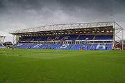 The ABAX Stadium, Peterborough, England on 12 December 2015. Photo by Aaron Lupton.