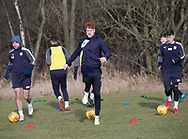Simon Murray of Dundee - Dundee FC training , Picture by David Young -