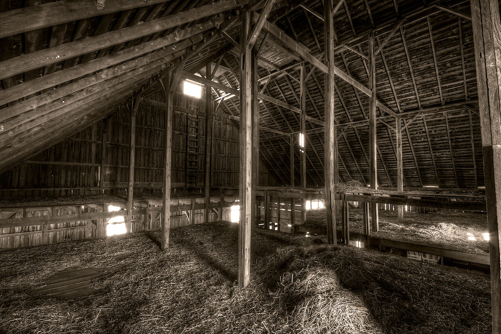 Old barns, Missouri