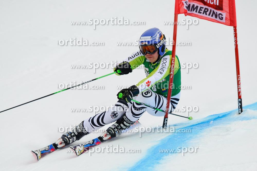 28.12.2010, Panoramapiste, Semmering, AUT, FIS World Cup Ski Alpin, Ladies, Giant Slalom, Bild zeigt REBENSBURG Viktoria, EXPA Pictures © 2010, PhotoCredit: EXPA/ S. Zangrando