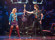 Rock of Ages<br /> by Chris D'Arienzo<br /> directed by Kristin Hanggi<br /> Choreography by Kelly Devine<br /> Press photocall<br /> 14th September 2011 <br /> at The Shaftesbury Theatre, London, Great Britain <br /> <br /> <br /> Oliver Tompsett (as Drew)<br /> <br /> Photograph by Elliott Franks