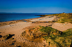 Seascape o the west coast of Great Cumbrae looking towards the Isle of Bute, Scotland<br /> <br /> (c) Andrew Wilson   Edinburgh Elite media