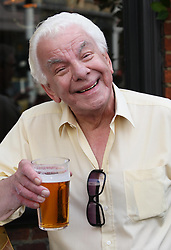 Barry Cryer  at the unveiling of a  blue plaque dedicated to former Monty Python Graham Chapman at his local pub the Angel in Highgate, North London, Thursday, 6th September 2012  Photo by: Stephen Lock / i-Images