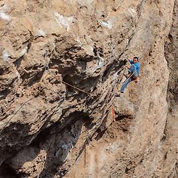 Sport Climbing Cueva de Actopan, Mexico
