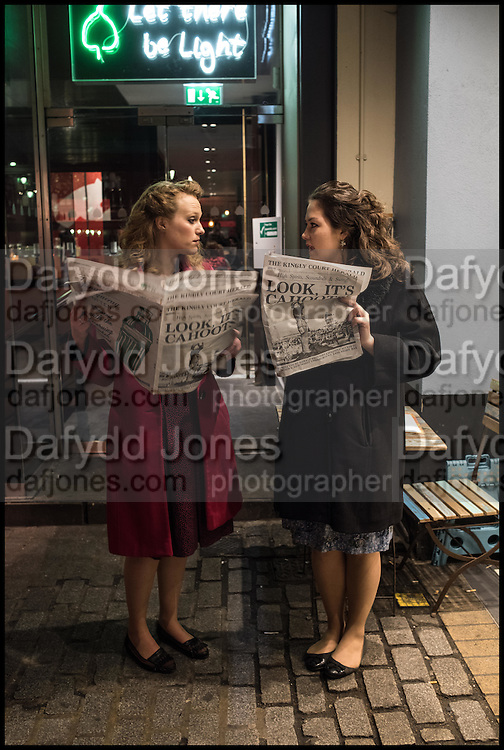 JESSICA DIVES; CAITLIN ARNOTT, , Cahoots club launch party, 13 Kingly Court, London, W1B 5PW  26 February 2015