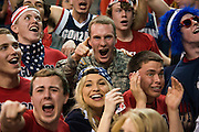 Students cheer on Gonzaga. (Photo by Gonzaga University)