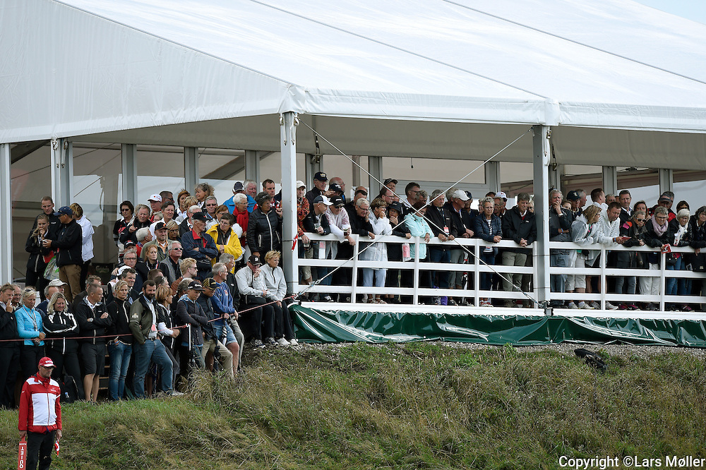 DK Caption:<br /> 20140815, Aars, Danmark:<br /> Made in Denmark Golf. 2. runde: Tilskuere der f&oslash;lger Thomas Bj&oslash;rn<br /> Foto: Lars M&oslash;ller<br /> UK Caption:<br /> 20140815, Aars, Denmark:<br /> Made in Denmark Golf.  2nd round: Tilskuere who follows Thomas Bj&oslash;rn<br /> Photo: Lars Moeller