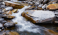 THEMENBILD - Gletscherbach, aufgenommen am 28. Maerz 2019 in Kaprun, Oesterreich // a glacier stream near Kaprun, Austria on 2019/03/28. EXPA Pictures © 2019, PhotoCredit: EXPA/ JFK