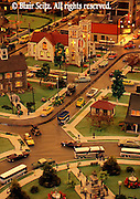 Roadside America, Mini-village resident scene, Shartlesville, Berks Co., PA