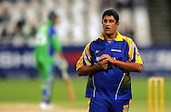 CAPE TOWN, SOUTH AFRICA - 22 February 2008, Rory Klienveldt during the MTN Domestic Championship match between the Nashua Cape Cobras and the Nashua Dolphins held at Sahara Park, Newlands Stadium in Cape Town, South Africa...Photo by Ron Gaunt/SPORTZPICS