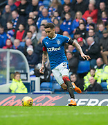 7th April 2018, Ibrox Stadium, Glasgow, Scotland; Scottish Premier League football, Rangers versus Dundee; James Tavernier of Rangers