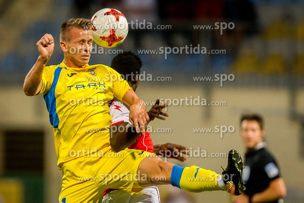 Nermin Hodzic of NK Domzale during football match between NK Domžale and NK Aluminij in 6th Round of Prva liga Telekom Slovenije 2017/18, on August 20, 2017 in Sports park Domzale, Domzale. Photo by Ziga Zupan / Sportida