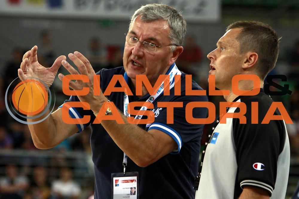 DESCRIZIONE : Bydgoszcz Poland Polonia Eurobasket Men 2009 Qualifying Round Grecia Russia Greece Russia<br /> GIOCATORE : Jonas Kazlauskas<br /> SQUADRA : Grecia Greece <br /> EVENTO : Eurobasket Men 2009<br /> GARA : Grecia Russia Greece Russia <br /> DATA : 13/09/2009 <br /> CATEGORIA :<br /> SPORT : Pallacanestro <br /> AUTORE : Agenzia Ciamillo-Castoria/H.Bellenger<br /> Galleria : Eurobasket Men 2009 <br /> Fotonotizia : Bydgoszcz Poland Polonia Eurobasket Men 2009 Qualifying Round Grecia Russia Greece Russia<br /> Predefinita :
