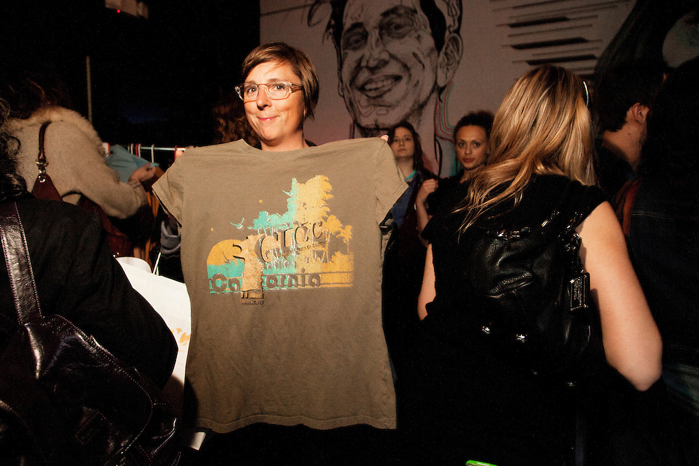 Shannon Manning - G.L.O.C. [Gorgeous Ladies of Comedy] Re-Launch Party - Littlefield - Brroklyn, New York - May 2, 2012