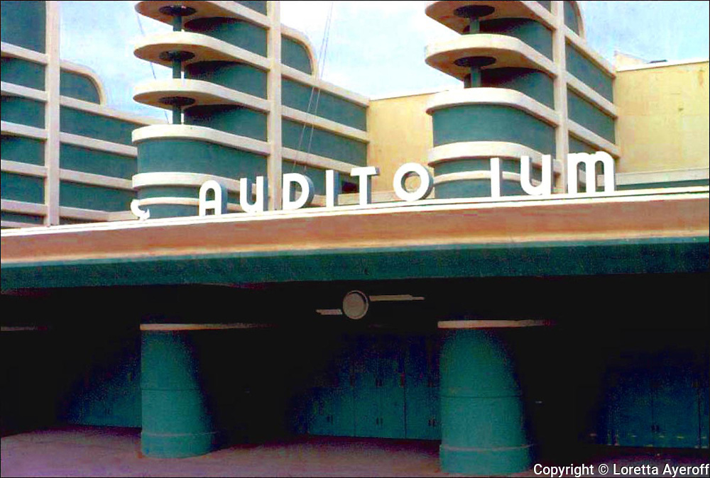 Pan Pacific Auditorium 1, Los Angeles, CA: A large portfolio of CA Ruins was published in California Magazine, 1982. This is the director's cut.
