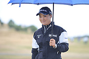 So Yeon Ryu during the final round of the Aberdeen Standard Investment Ladies Scottish Open 2018 at Gullane Golf Club, Gullane, Scotland on 29 July 2018. Picture by Kevin Murray.