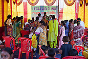 Families from Cuttack get legal advice and birth certificates from a Legal Aid Clinic run by the organisation CLAP. Committee for Legal Aid to Poor (CLAP), helps provide legal aid to the poorer communities in the Orissa district of India.