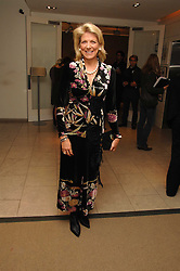 LADY DE ROTHSCHILD at the launch of Ecuador: Block 16 a partnership between IWC watches and David De Rothschild held at The Hospital, Endell Street, Covent Garen, London on 8th October 2007.<br /><br />NON EXCLUSIVE - WORLD RIGHTS