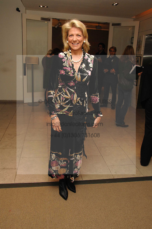 LADY DE ROTHSCHILD at the launch of Ecuador: Block 16 a partnership between IWC watches and David De Rothschild held at The Hospital, Endell Street, Covent Garen, London on 8th October 2007.<br />