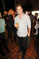 TYRONE WOOD son of Ronnie Wood at the Launch of Peroni Nastro Azzurro Accademia del Film Wrap Party Tour held atThe Boiler House, 152 Brick Lane, London E1 on 25th August 2010.