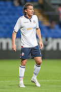 Lawrie Wilson (Bolton Wanderers) during the Pre-Season Friendly match between Bolton Wanderers and Burnley at the Macron Stadium, Bolton, England on 26 July 2016. Photo by Mark P Doherty.