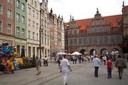 Gdańsk; 2008-06-22. Stare Miasto w Gdańsku. Zielona Brama.