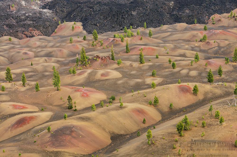 The Painted Dunes, Lassen Volcanic National Park, California