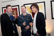 PHIL ALLEN; ALASTAIR MACKINVEN; BARRY REIGATE, Swarovski Whitechapel Gallery Art Plus Opera,  An evening of art and opera raising funds for the Whitechapel Education programme. Whitechapel Gallery. 77-82 Whitechapel High St. London E1 3BQ. 15 March 2012