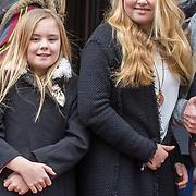 NLD/Amsterdam/20180203 - 80ste Verjaardag Pr. Beatrix, Prinses Amalia en Prinses Ariane