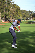 Tiger Woods<br /> with driver<br /> High speed swing sequence<br /> 2019<br /> <br /> Pictures Credit: Mark Newcombe/visionsingolf.com