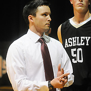Ashley High School Head Basketball Coach Webster Guthrie is pictured before the school's varsity game against New Hanover High School Friday December 19, 2014 at New Hanover High School in Wilmington, N.C. (Jason A. Frizzelle)