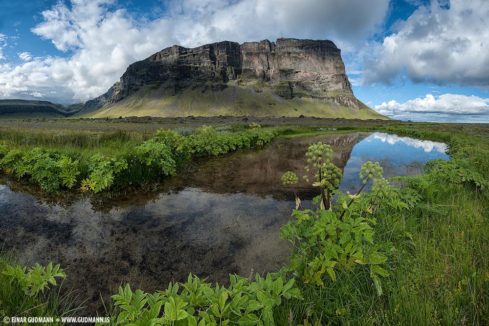 Lómagnúpur southeast Iceland