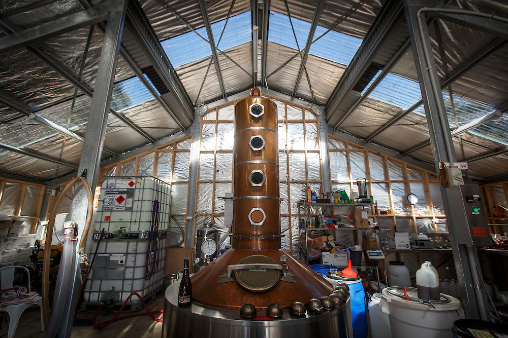 The still at McHenry Distillery in Port Arthur, Tasmania, August 25, 2015. Gary He/DRAMBOX MEDIA LIBRARY