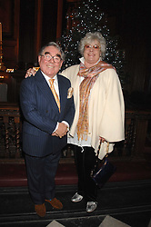 RONNIE CORBETT and his wife ANNE at a carol concer 'Carols From Chelsea - A Celebration of Christmas' held at the Royal Hospital Chapel, Chelsea in aid of The Institute of Cancer Research on 4th December 2007.<br /><br />NON EXCLUSIVE - WORLD RIGHTS