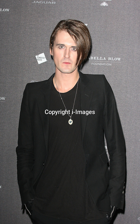 Gareth Pugh  arriving at the opening of the  Isabella Blow at the Isabella Blow exhibition at Somerset House in London, Tuesday, 19th November 2013   Photo by: i-Images