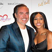 Nick Ede, Alexandra Burke attends gala dinner and concert to raise money and awareness for the Melissa Bell Foundation and Style For Stroke Foundation. 14 October 2018.
